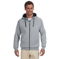 Jerzees® Adult 8 oz. NuBlend® Contrast Full-Zip Hood