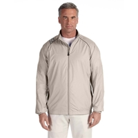 adidas Golf Men's 3-Stripes Full-Zip Jacket