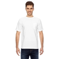 Bayside (R) Adult Short-Sleeve T-Shirt with Pocket