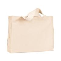Bayside® 12 oz., Cotton Canvas Medium Gusset Tote