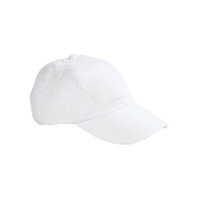 Big Accessories Youth 6-Panel Brushed Twill Unstructured Cap