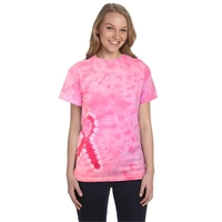 Tie-Dye Pink Ribbon T-Shirt