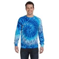 Tie-Dye Adult 5.4 oz. 100% Cotton Long-Sleeve T-Shirt