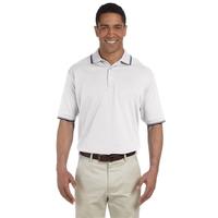 Devon & Jones® Men's Tipped Perfect Pima Interlock Polo