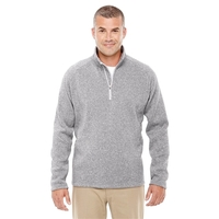 Devon & Jones® Adult Bristol Sweater Fleece Quarter-Zip