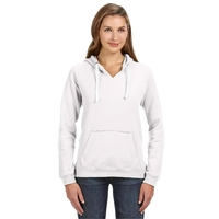 J America® Ladies' Sydney Brushed V-Neck Hood