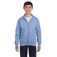 Hanes® Youth 7.8 oz. EcoSmart® 50/50 Full-Zip Hood