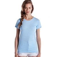 US Blanks (R) Ladies' Short-Sleeve Triblend Crew