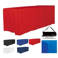 6' 4-Sided Fitted Style Table Covers & Table Throws (Blanks)
