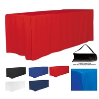 8' 4-Sided Fitted Style Table Covers & Table Throws (Blanks)