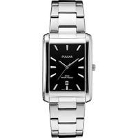 Pulsar Men's Essentials Silver-Tone Watch