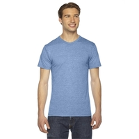 American Apparel® Unisex Triblend Short-Sleeve Track T-...