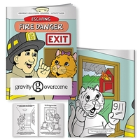 Coloring Book: Escaping Fire Danger