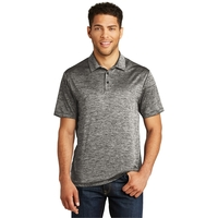 Sport-Tek PosiCharge Electric Heather Polo.