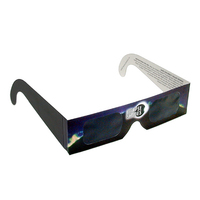 Eclipse Glasses - Safe Solar Viewers - Stock Design (Blue)