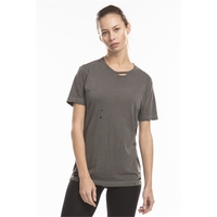 US Blanks® Unisex Pigment-Dyed Destroyed T-Shirt