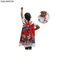 Kids Sublimated or Blank Polyester Super Hero Cape
