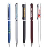 Metal Twist Action Ballpoint Pen