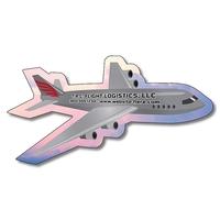 Magnet - Airplane Shape (3.8x2) - 20 mil.