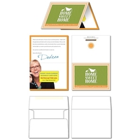Greeting Card - 7x5 Folded with Business Card Slits & Envelo