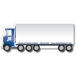 Stik-ON(R) Shape Adhesive Notes - Truck with Trailer (7x2.62