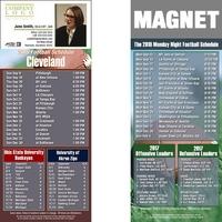 Cleveland Football Schedule Magnet