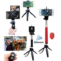 iBank®Selfie Stick+Bluetooth Shutter+Tripod