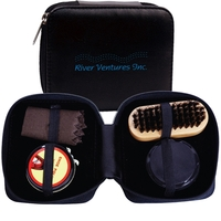 Deluxe Shoe Shine Kit
