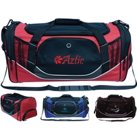 Sports/Duffel Bag with Shoe Pouch