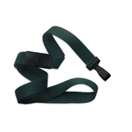 """5/8"""" Flat Blank Lanyards with Wide Plastic Hook"""