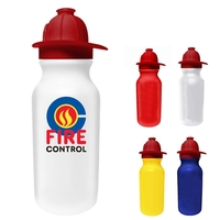 20 oz. Value Cycle Bottle with Fire Helmet Push 'n Pull Cap,