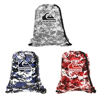 Brady Camo Non-Woven Drawstring Sports Pack