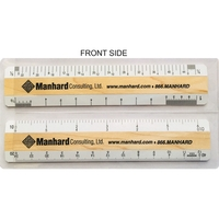 """6"""" DOUBLE BEVEL Architectural & Civil Engineering Rulers"""