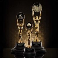 Champion Award - Gold/Ebony Base