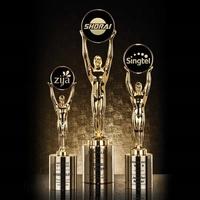 Champion Award - Gold/Cylinder Base