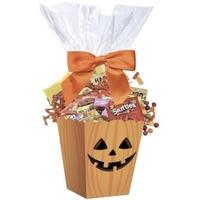 Halloween Pumpkin Candy Basket