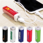 Plastic Power Bank Emergency Battery Charger