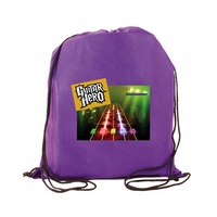 NW Drawstring Backpack, Full Color Digital