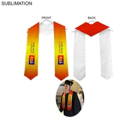 Polyester Graduation Honor Stole, Sublimated