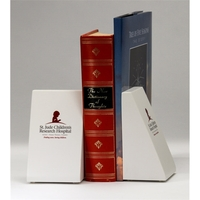 Wedge Bookend Set
