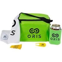 6 Pack Cooler Golf Kit w/ DT TruSoft Golf Ball