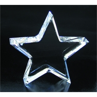 Small Crystal Star Paperweight