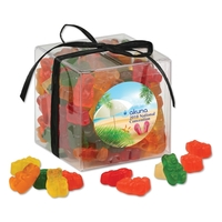 Gummy Bears in Stylish Acetate Cube