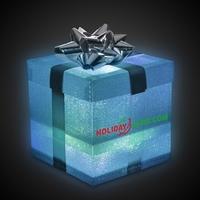 Silver LED Gift Box