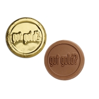 Chocolate foiled coins