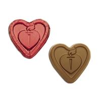 Chocolate foiled hearts
