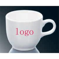 4 oz Ceramic Whiteware Mug