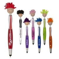 Multi-Culture MopTopper™ Screen Cleaner with Stylus Pen
