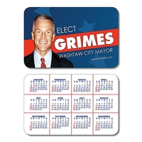 Political Laminated Wallet Card - 3.5x2.25 (2-Sided) - 14 pt