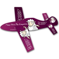 Paper Airplane Glider - Assemble Product - 14 pt.